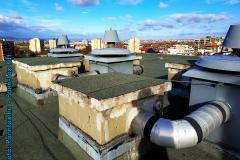 szellőző kivezetése a tetőn